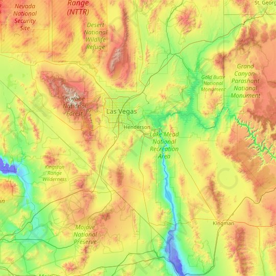 clark county topographic map elevation relief clark county topographic map elevation